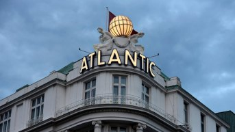 "The ""Atlantic"" hotel is pictured in Hamburg, Germany, June 21, 2017. Picture taken June 21, 2017. REUTERS/Fabian Bimmer"